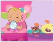 Игра для девочек Барби - няня