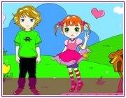 Игра для девочек Мальчик и девочка