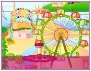 Игра для девочек Парк развлечений