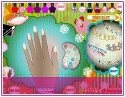 Игра для девочек Дизайн ногтей